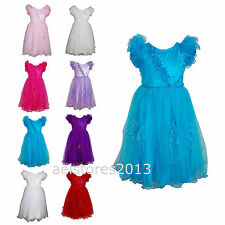 Girls Flower Wedding Bridesmaid Dress Party Communion Age 0 months - 13 years