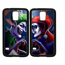 Joker and Harley Quinn Custom Couple Phone Case for Samsung S6 Edge 6 5 4 3 Note
