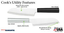 R140 or W240 Cooks Utility Knife Rada cutlery L/R handed NEW USA made Buy extra+