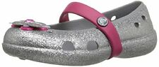 crocs Keeley Glitter Spring Flat PS - K Mary Jane- Choose SZ/Color.