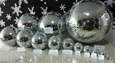 disco mirror ball Stage holiday home party Christmas Xmas decor hanging DJ balls