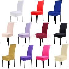 Elastic Short Removable Dining Room Stool Chair Cover Slipcover Wedding Party