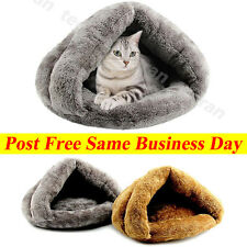 Cat Dog House Puppy Cave Pet Sleeping Bed Mat Pad Igloo Nest New Fashion NEW