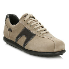 Camper Mens Dark Brown Pelotas Suede Shoes Trainers Lace Up Casual Sport