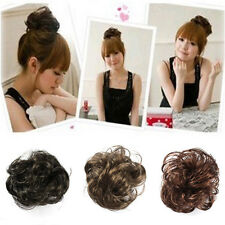 Stylish Hair Wave Ponytail Holders Scrunchy Bun Pony Tail Extensions Hairpiece