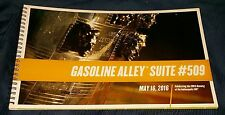 100th RUNNING OF THE 2016 INDIANAPOLIS 500 PRACTICE UNUSED TICKETS BOOK INDY CAR