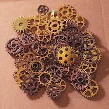 Vintage Metal Gears Charms For Jewelry Making Diy Steampunk Pendant 100pcs/lot