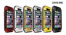 Love Mei Gorilla Glass Metal Shock/Water Proof Case Cover For iPhone 6 6s Plus