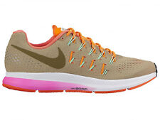 NEW WOMENS NIKE AIR ZOOM PEGASUS 33 RUNNING SHOES TRAINERS NEUTRAL OLIVE NARROW