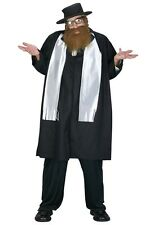 Jewish Rabbi Adult Mens Costume, 114144, Fun World, Fiddler on the Roof