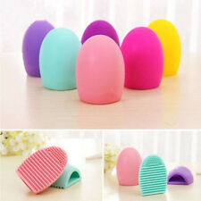 Silicone Makeup Brush Cleaner Tool Washing Scrubber Board Cleaning Hand 5 Colors