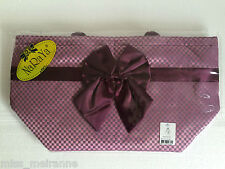 "*Sale* NaRaYa ""Ribbon bag"" Large Shoulder Bag (Black,Pink,Purple) Elegant"