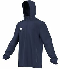 Adidas Core 15 Plain Rain Jacket - Adult - Navy