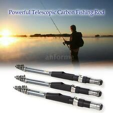 TELESCOPIC FISHING ROD RETRACTABLE FISHING POLE TRAVEL FISHING ROD KIT NEW K4S4