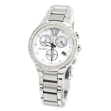 Citizen Business ECO-DRIVE  Ladies Analog Silver Watch FB1320-59A