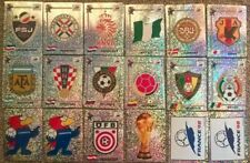 PANINI FRANCE WORLD CUP 1998 - EMBLEM /FOIL STICKERS - PLEASE CHOOSE