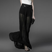 Punk Rave Dark Shadows Long Skirt [Special Order] - Gothic,Goth,Black,Prom,Forma