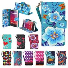For Motorola Moto Z Force Droid Hybrid PU Leather Wallet Pouch Case Flip Cover
