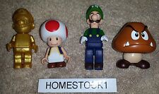 *NEW* K'NEX Nintendo Super Mario Golden Mario Toad Luigi Goomba Figure Packs