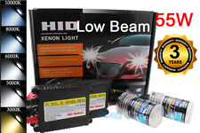 DC H11 55W Xenon Headlight Low Beam Replacement Conversion HID Kit For Acura LM