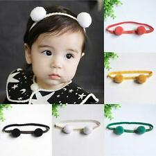 Kids Girls Baby Headband Toddler Lace Hairball Hair Band Headdress Accessories