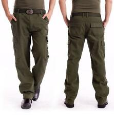 Mens Military Army Overalls Trousers Cargo Trail Combat Tactics Pants PLUS SIZE
