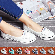 New Lady Girls Casual Canvas Shoes Sneakers Running Breathable Leisure Shoes
