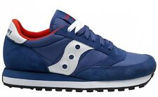 SAUCONY JAZZ ORIGINAL SZ 12 10.5 MEN'S 2044-273 NAVY WHITE SUEDE NYLON NEW