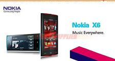 Nokia X6 X6-00 8GB/16GB/32GB 3G Wifi GPS 5MP 3.2 inches Touchscreen CellPhone
