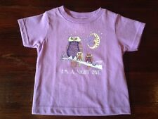 """I'M A NIGHT OWL"" 100% COTTON  TODDLER SHIRTS, Jamie Hayes, NEW ORLEANS ARTIST"