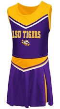 "LSU Tigers NCAA Toddler ""Aerial"" 2 Piece Set Cheerleader Outfit"