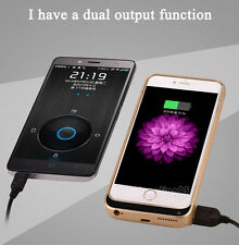 External Rechargeable Battery Backup Charger Case Cover Pack Bank for iPhone 6 +