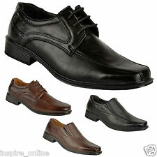 NEW MENS SMART OFFICE WEDDING SHOES ITALIAN DRESS CASUAL FORMAL WORK PARTY SIZE