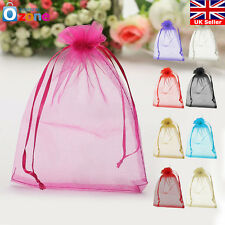 "50pcs 7"" x 9"" Strong Candy Gift Bag Sheer Organza Wedding Christmas Favor Pouch"