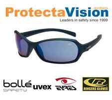Bolle Hurricane Polarised/Smoke/Clear/Flash lens Safety Glasses Sunglasses