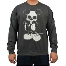 Mikey by Josh Stebbins Tattoo Art Men's Sweatshirt Dead Mickey Mouse Skull
