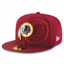 WASHINGTON REDSKINS NEW ERA BURGUNDY 2016 SIDELINE OFFICIAL 59FIFTY FITTED HAT