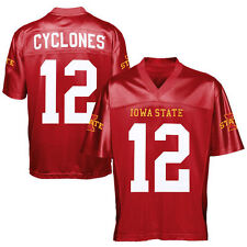 No. 12 Iowa State Cyclones Cardinal Fan Football Jersey