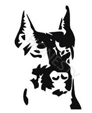 The pet dog hound Car Stickers Motorcycle Decals wall window laptop vinyl decor