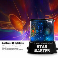 LED Cosmos Stars Master Sky Starry Night Light Lamp Projector Space magica Syste