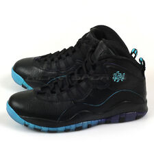Nike Air Jordan Retro 10 Shanghai Black/Gamma Blue-Fierce Purple 310805-024