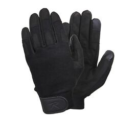 Black Touch Screen All Purpose Duty Gloves Rothco 3869