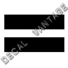 Equal Sign Symbol Vinyl Sticker Decal Equality Rights Math - Choose Size & Color