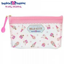 Hello Kitty My Melody Clear Pen Pouch Pencil Case Purse Sanrio from Japan S5237