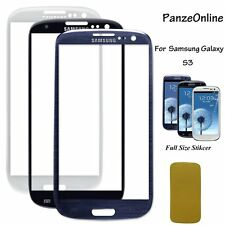 Replacement Front Outer Screen Glass Lens For Samsung Galaxy S3 i9300 I747 T999