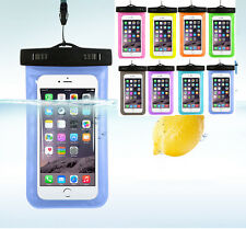 Waterproof Underwater Pouch Dry Bag Case Cover For Cell Phone iPhone Touchscreen