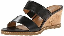 Rockport Garden Court Perf Slide Womens  Leather Sandal 8(B)- Choose SZ/Color.