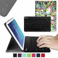 Slim Wireless Bluetooth Keyboard Case Stand Cover for Samsung Galaxy Tab Tablet