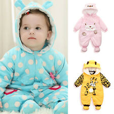 Cotton Newborn Baby Winter Outwear Outfits Boy Girls Clothes Romper Clothes Sets