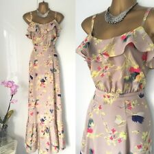 Monsoon Maxi DRESS SIZE 14 Summer Holiday Races Floaty Special Occasion.